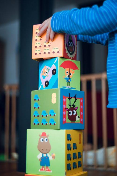 bouwen met blokken